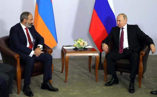 Пашинян в Москве встретится с Путиным