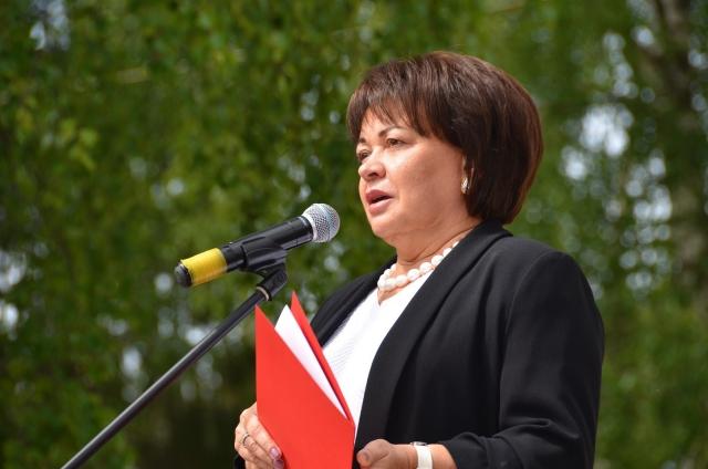 Заместитель полномочного представителя Президента России в СЗФО Любовь Совершаева