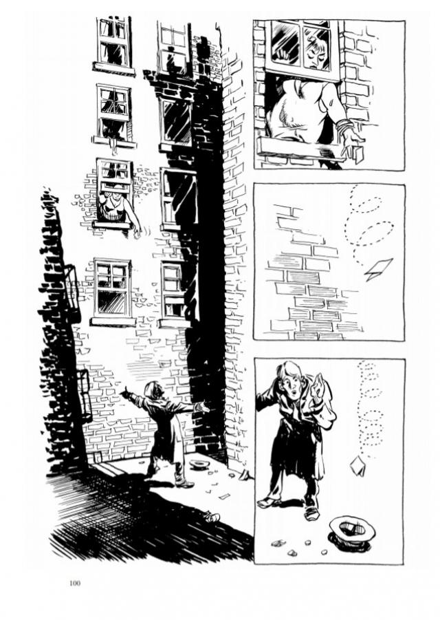 Фрагмент комикса Уилла Айснера «Контракт с Богом и другие истории арендного дома»