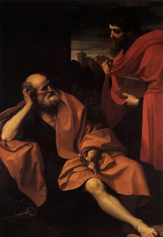 Гвидо Рени. Святые Пётр и Павел. 1605