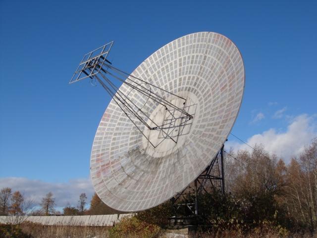Пулковская обсерватория. Радиотелескоп