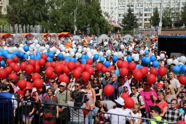 Красноярцы «оживили» карту России