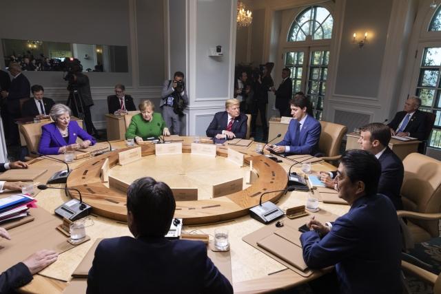 Встреча большой семерки