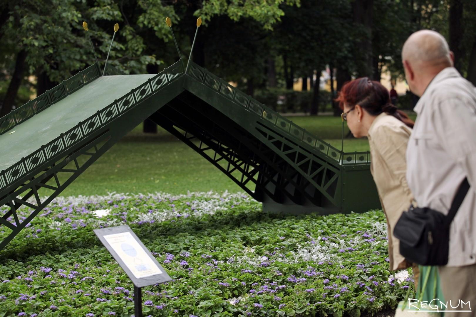 Фестиваль цветов в Александровском саду