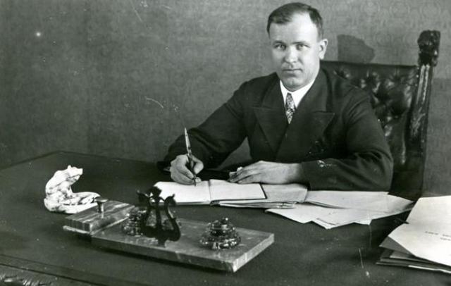 Илья Малышев, первый министр геологии СССР