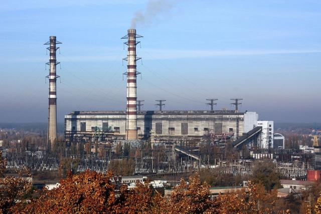 Трипольская ТЭС. Киевская область