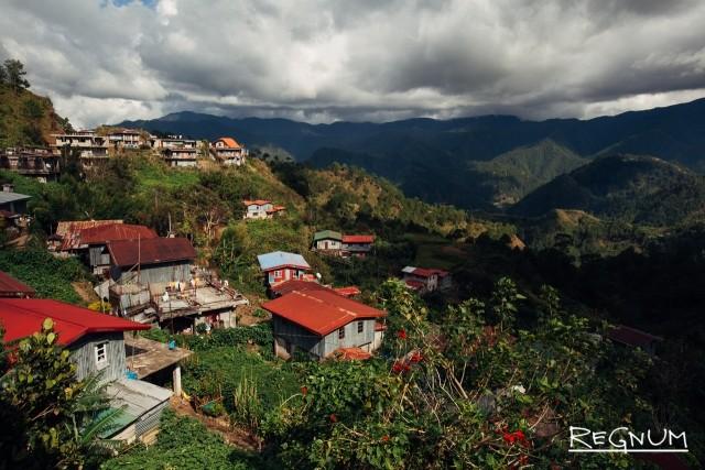 Горная провинция расположена на крупнейшем острове Филиппин – Лузоне