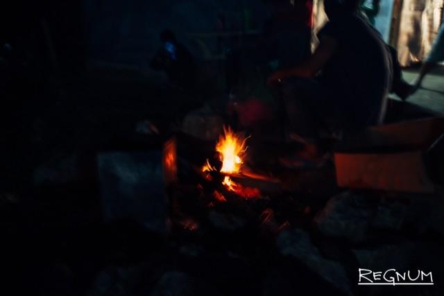 Вообще, до сих пор игороты сохраняют культ огня – вечером по всей Сагаде можно видеть горящие костры