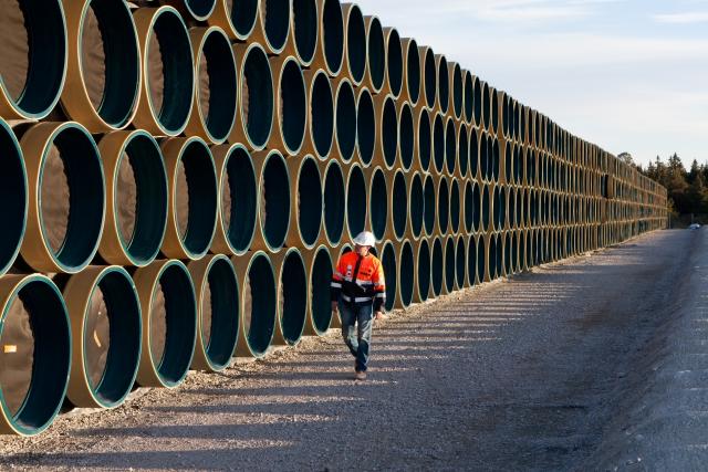 Строительство газопровода «Северный поток — 2»