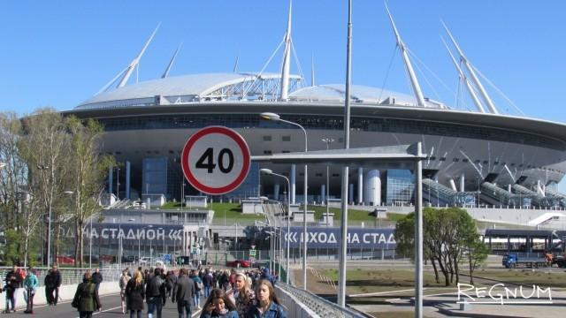 Раздельный сбор мусора организуют у стадиона «Санкт-Петербург» на время ЧМ