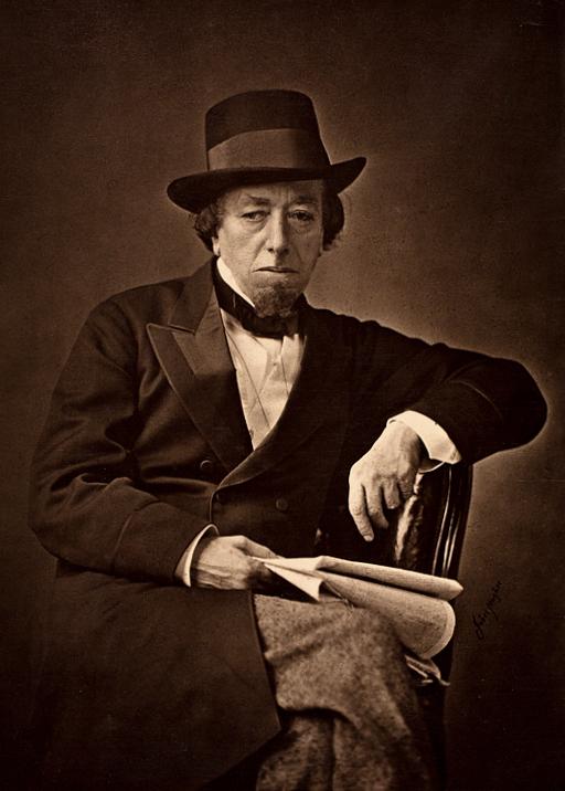 Корнелиус Джабез Хьюз. Портрет Бенджамина Дизраэли (1804-1881). 1878