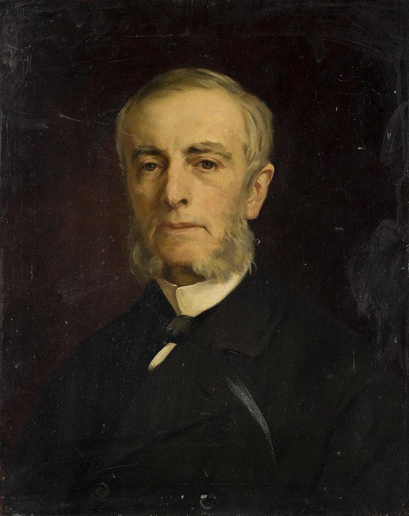 Иван Макаров. Портрет графа Петра Павловича Шувалова (1820-1900). 1890-е