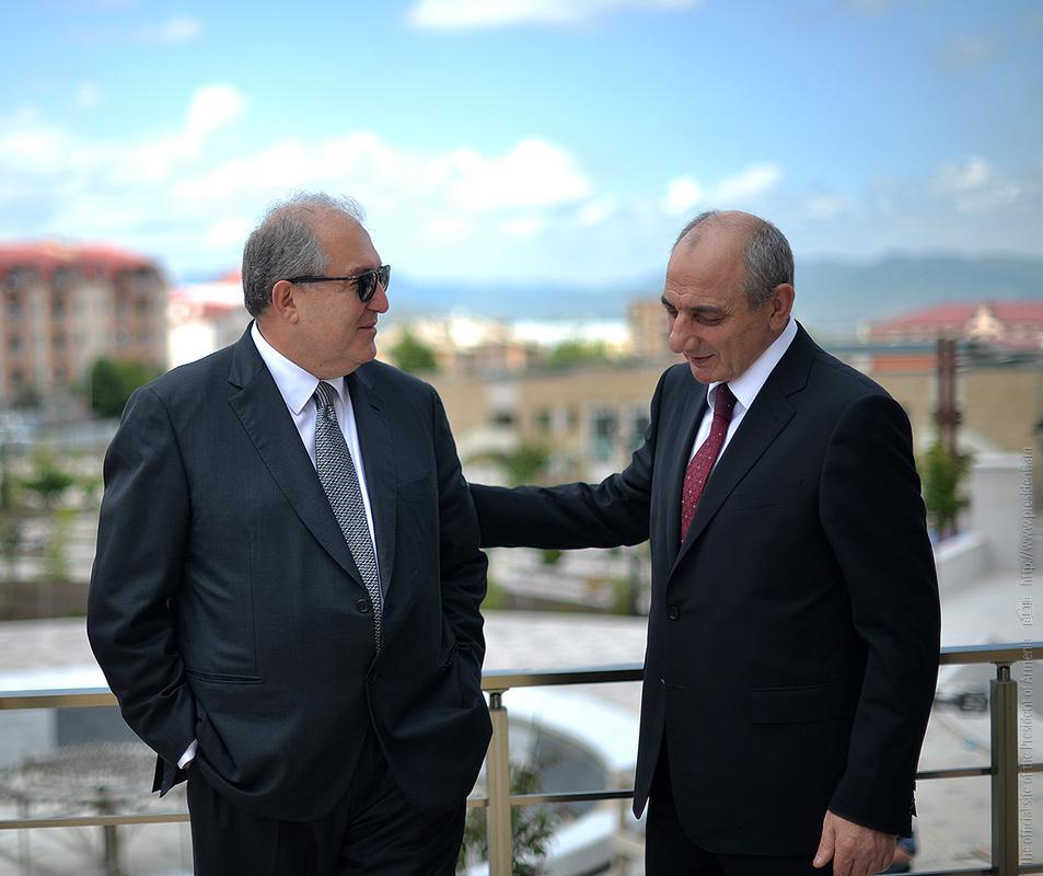Армен Саркисян и Бако Саакян