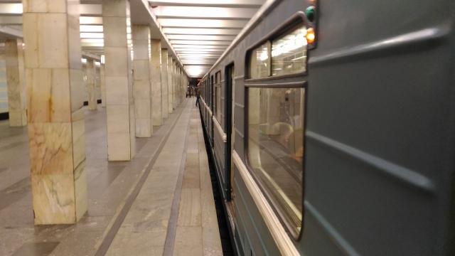 На салатовой ветке метро в Москве произошёл сбой в движении поездов