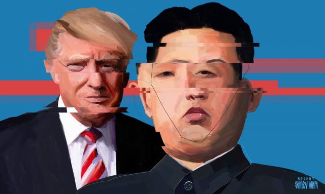 Американцам понравились переговоры Трампа и Кима — опрос Ipsos