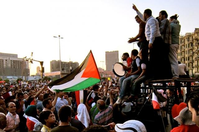 Полиция Западного берега разогнала протестующих из сектора Газа