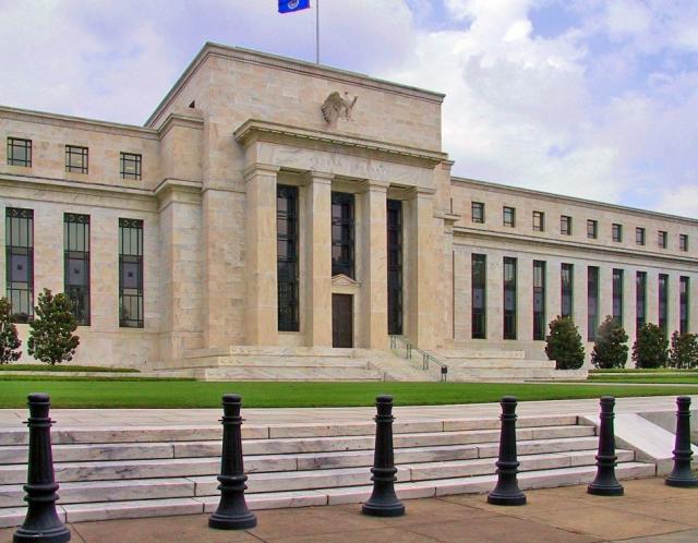Индексы Уолл-стрит падают после объявления ФРС США