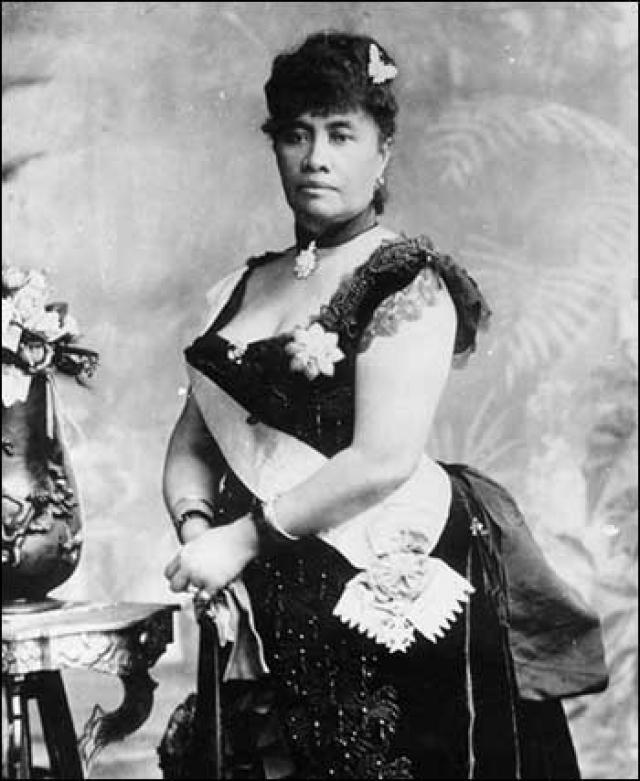 Лилиуокалани, последняя королева Гавайев. 1887