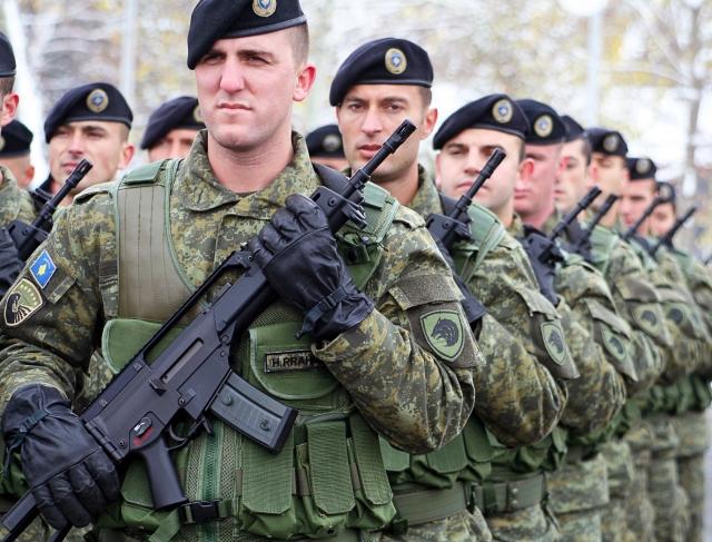 Албанцы из силовых структур Косово