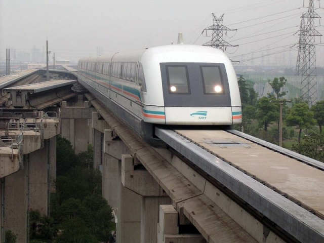 В центральном Китае с конвейера сошла новая «ускоренная» модель маглева