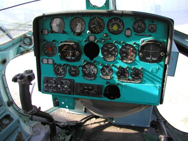 Вертолёт Ми-2 аварийно сел в Красноярском крае