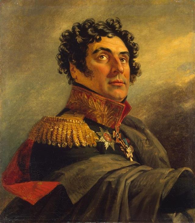 Джордж Доу. Портрет русского генерала Петра Ивановича Ивелича (1772 — после 1850)