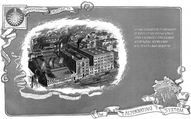 Книжная гравюра Westinghouse Electric Company