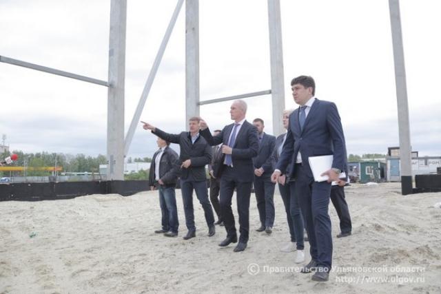 Сергей Морозов осмотрел объекты спортивной инфраструктуры