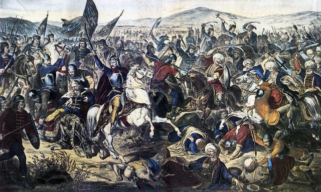 15 июня 1389 года, Косово поле