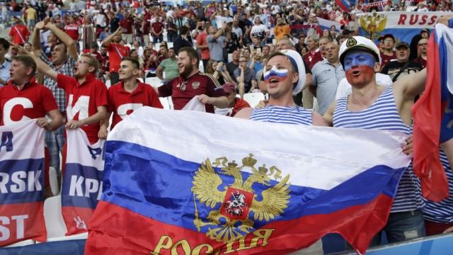 Россия забила первый гол на матче чемпионата мира-2018