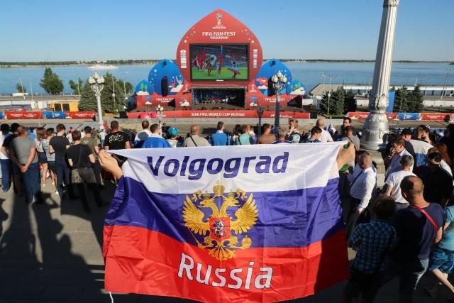 Вратарь-диджей и женский день: в Волгограде открылся Фестиваль болельщиков