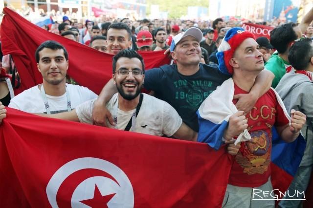 Радость марокканцев за Россию