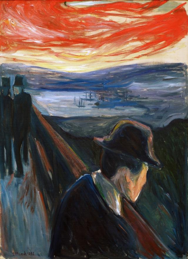 Эдвард Мунк. Отчаяние. 1892