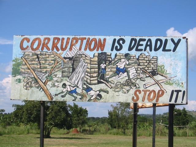 Коррупция убивает. Остановите её!