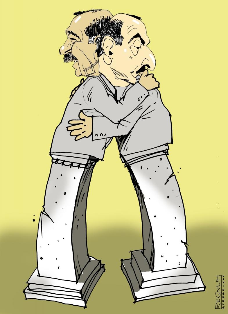 Эрдоган Реджеп и  Ильхам Алиев
