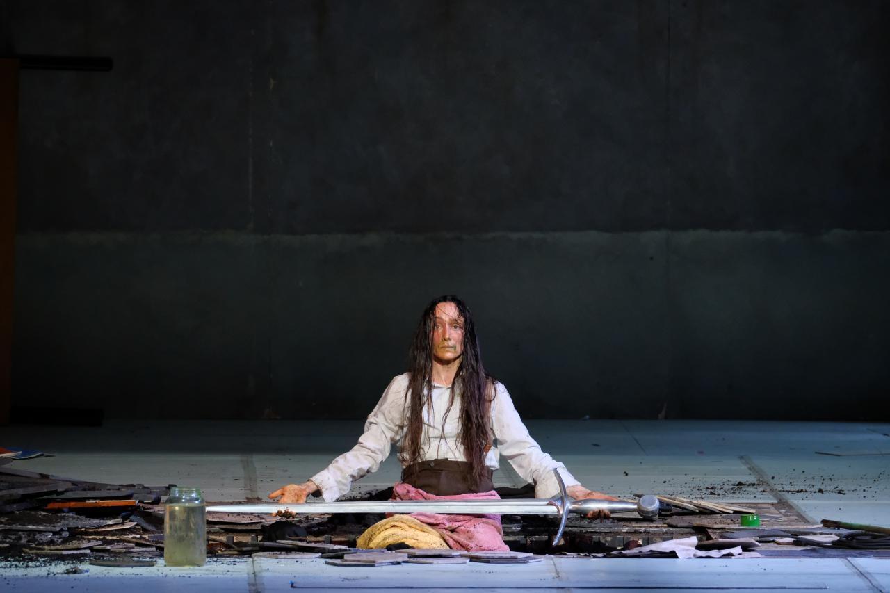 Спектакль «Жанна на костре»