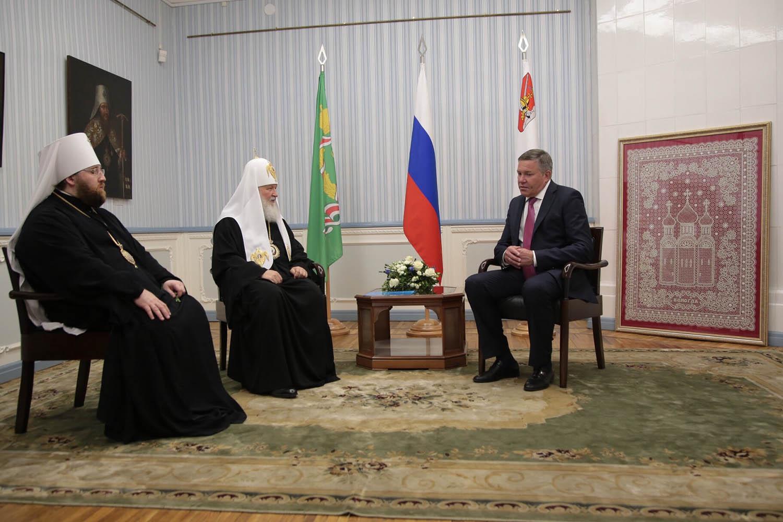 Визит Патриарха Кирилла в Вологодскую область