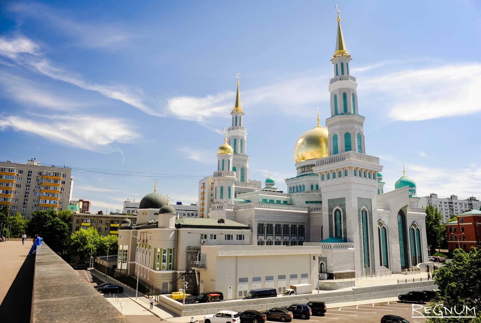 Картинка центральный мечеть
