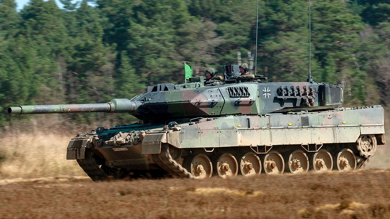 Германский основной боевой танк Leopard-2A7