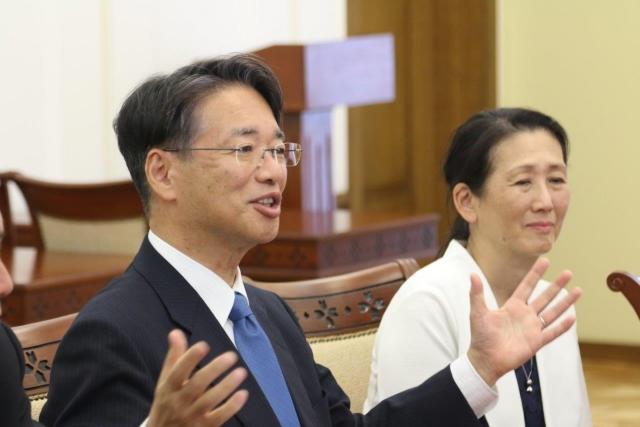 Посол Японии в России Тоёхиса Кодзуки