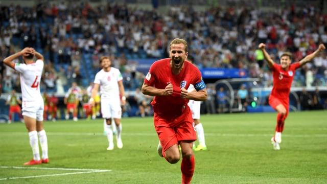 Чемпионат мира: Кейн вывел вперед сборную Англии в матче с Тунисом