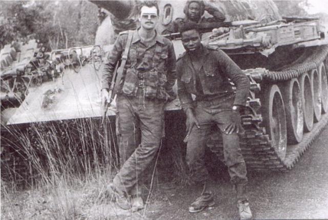 Советский солдат в Анголе