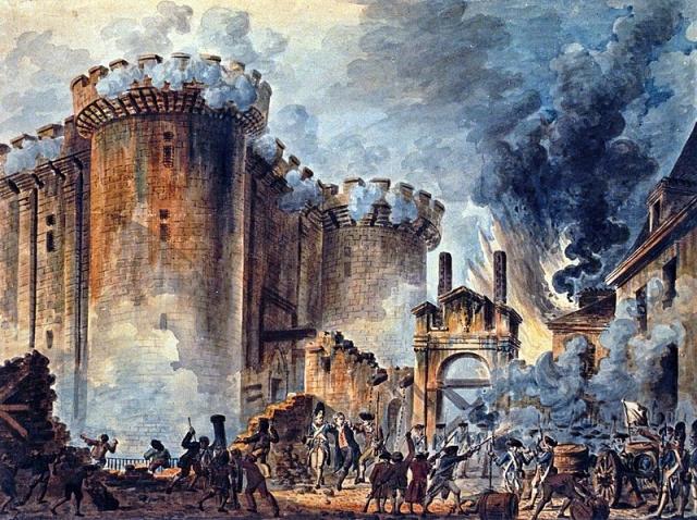 Взятие Бастилии. 14 июля 1789