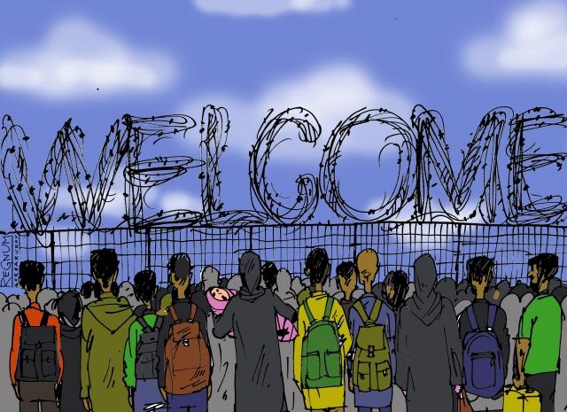 Евросоюз разделит мигрантов за пределами своих границ