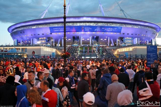 В Смольном гордятся новым рекордом стадиона «Санкт-Петербург»