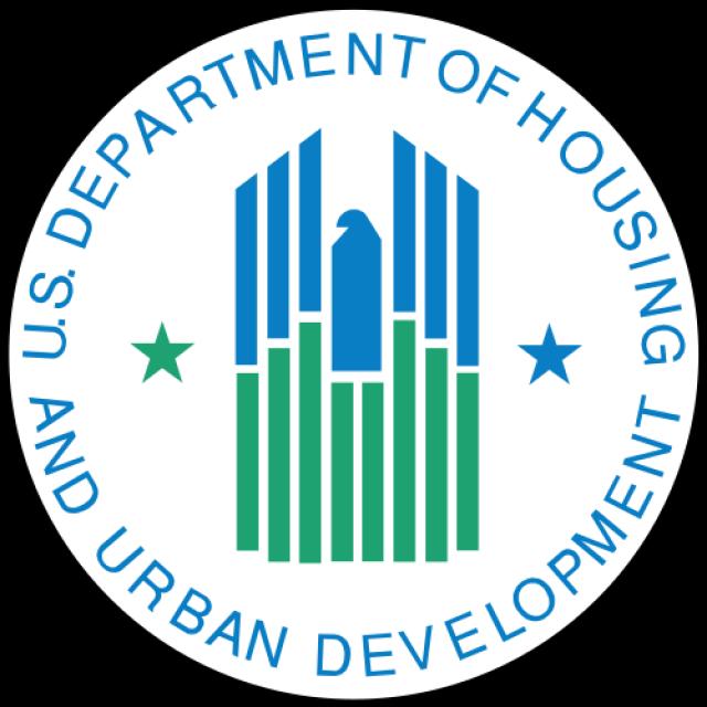 Современная эмблема федерального ведомства, отвечающего за социальное жильё США