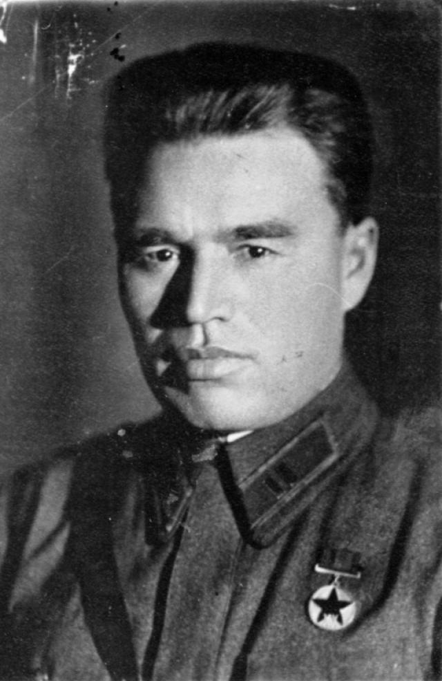 Герой обороны Брестской крепости майор П.М. Гаврилов