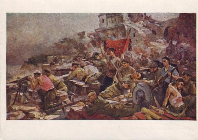 Серия открыток «Брестская крепость», 1963