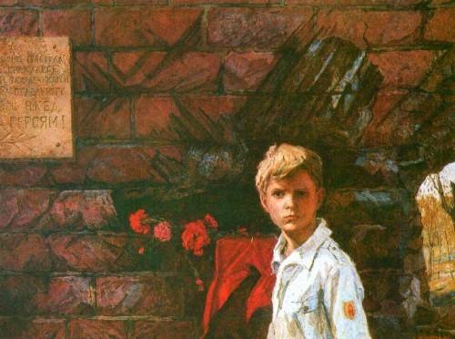 А. Мазитов. Память. Брестская крепость. 1985