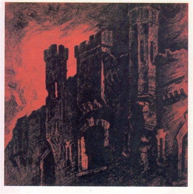 П.С. Дурчин. Башни Холмских ворот. 1970